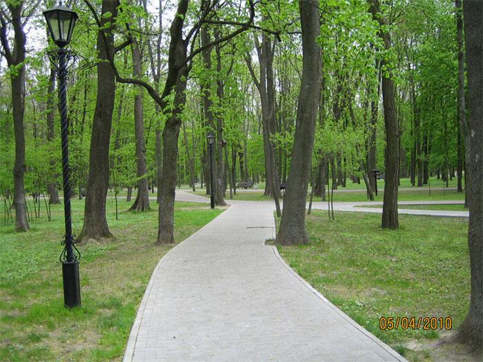 Парк в Гомельском дворцово-парковом ансамбле