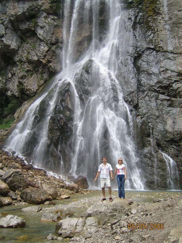 Фото Гегского (Черкесского) водопада