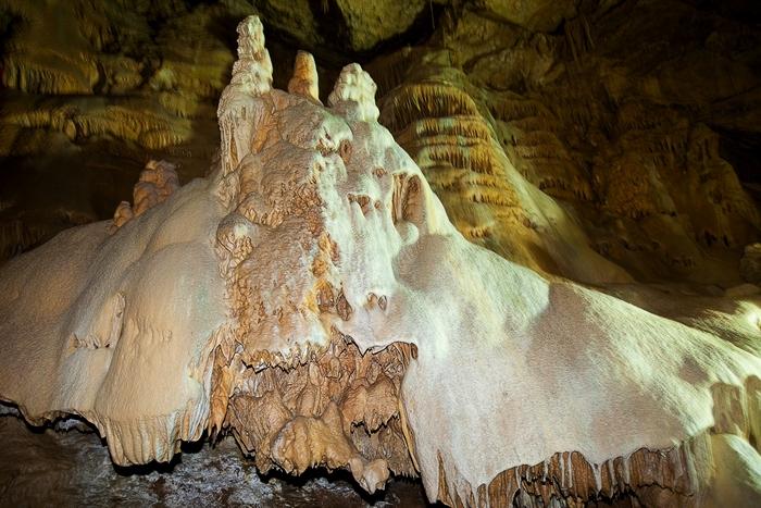 Фото Новоафонской пещеры