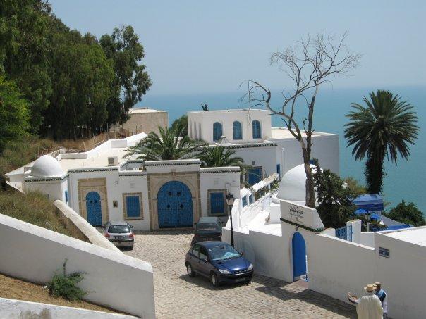 Тунис. Виды Сиди-Бу-Саида