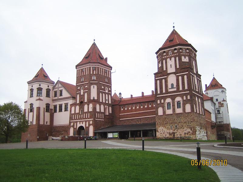 Достопримечательности Белоруссии: Мирский замок в поселке Мир Гродненской области