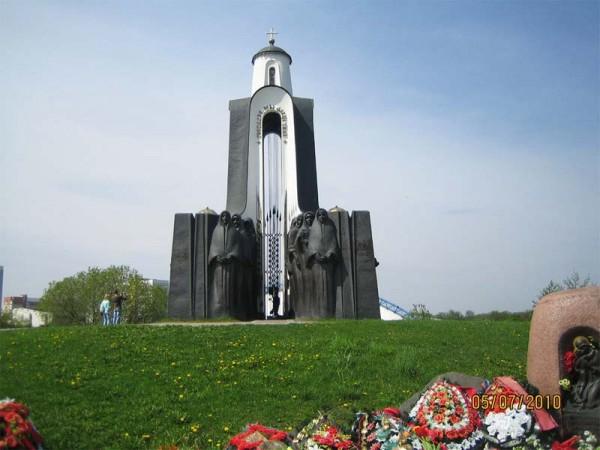 Памятник белорусским воинам-афганцам в Минске