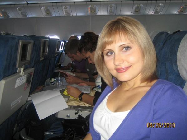 """В Боинге 777 """"Трансаэро"""""""