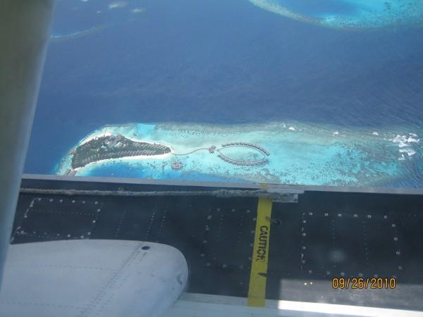 Мальдивский остров-отель.