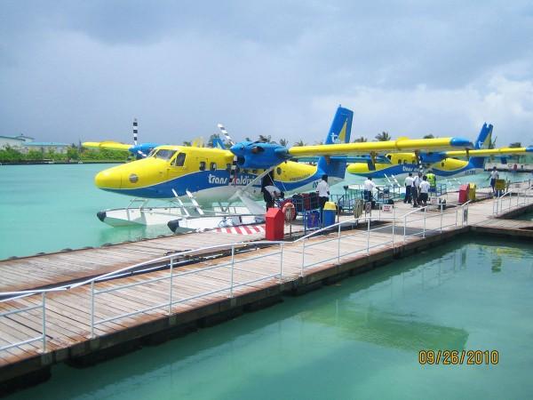 Гидросамолеты на Мальдивских островах