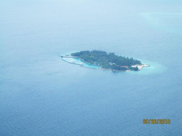 Мальдивы. Островок в Индийском океане