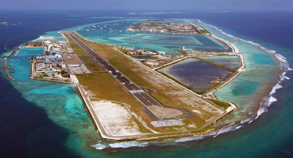 Аэропорт в Мале на Мальдивах