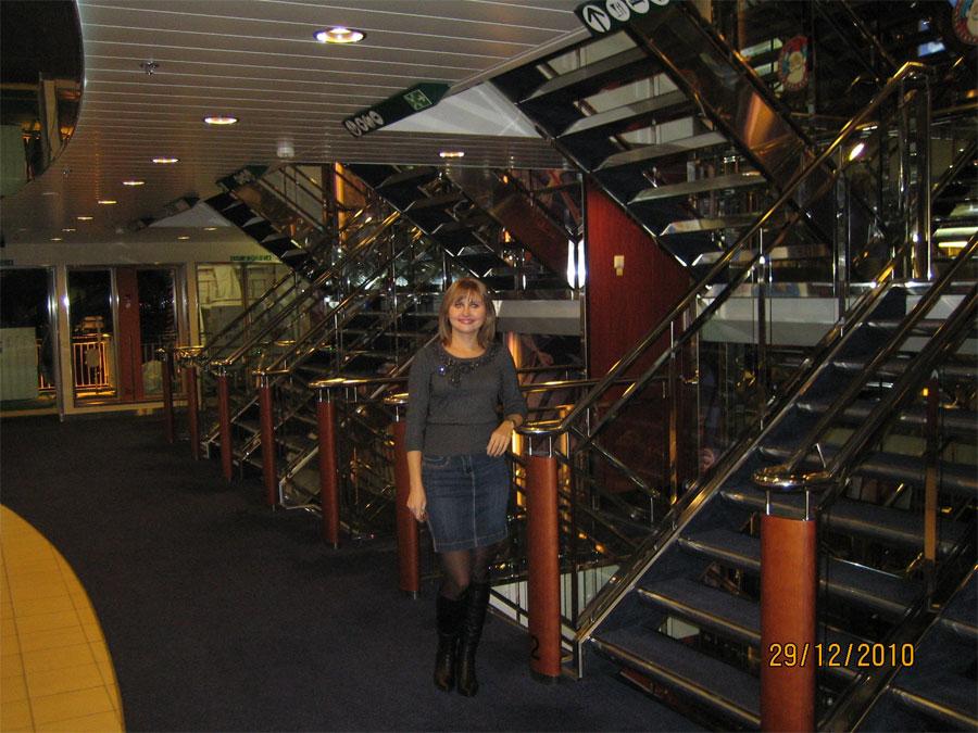 Лестницы на пароме