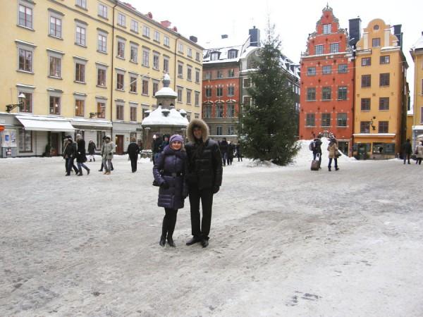 Большая площадь – Stortorget (Стурторьет) в Стокгольме