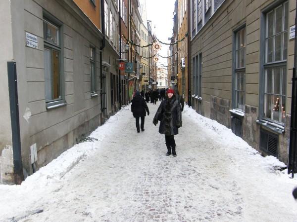 Старинные улочки Стокгольма