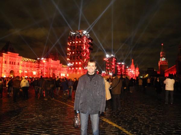 Фото с шоу на Красной площади
