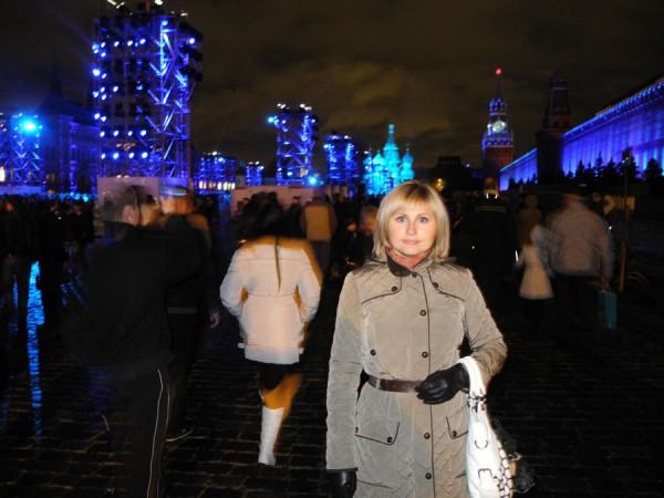 Я в центре Москвы