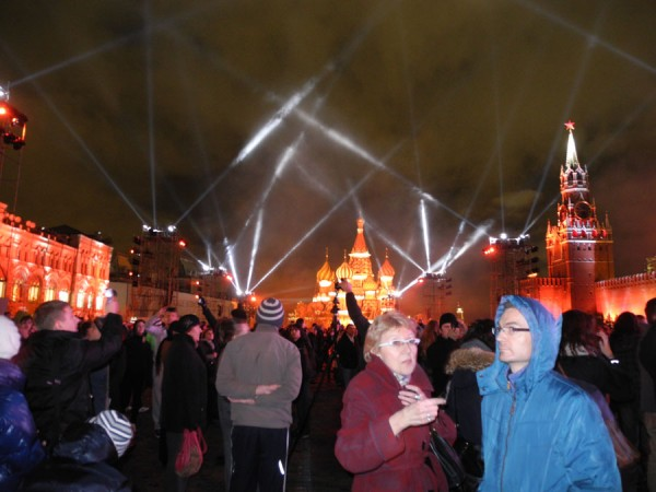 Световые инсталляции в центре Москвы