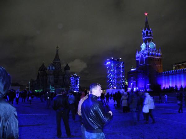 Световое и лазерное шоу в Москве