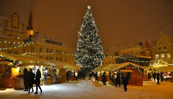 Фотографии зимнего Таллинна