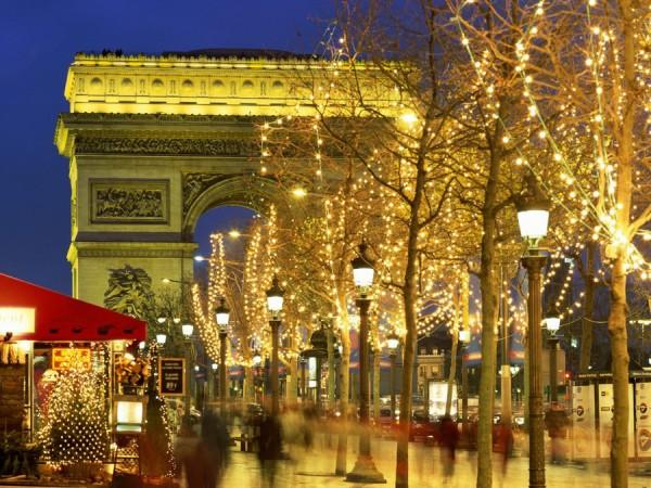 Во Францию на Новый год