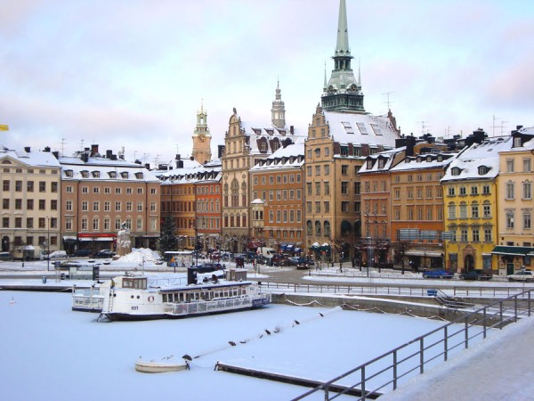 Стокгольм зимой фото