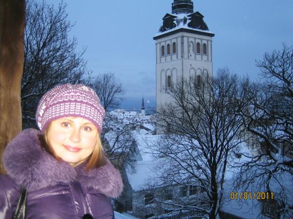 Фотографии Таллинна зимой