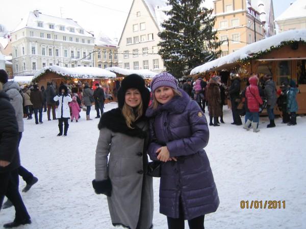 Встреча в Таллинне на Новый год