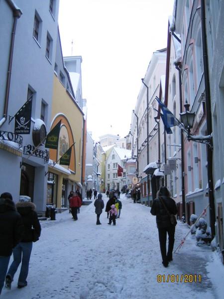 Таллинн зимой фото