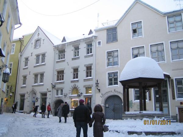 Таллинн. Старый город фото