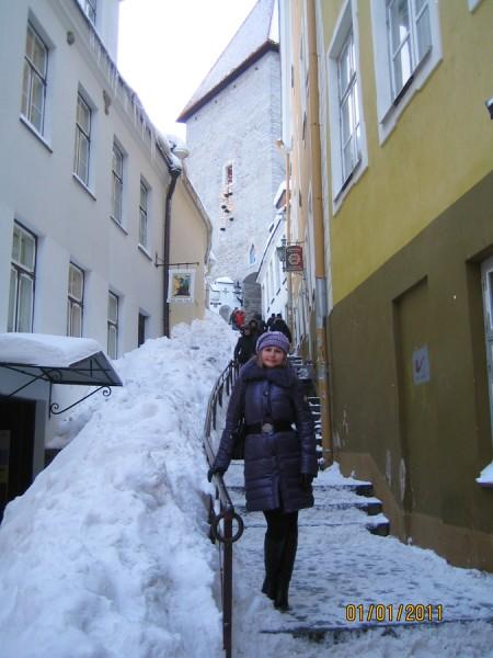 Старый город в Таллинне фото