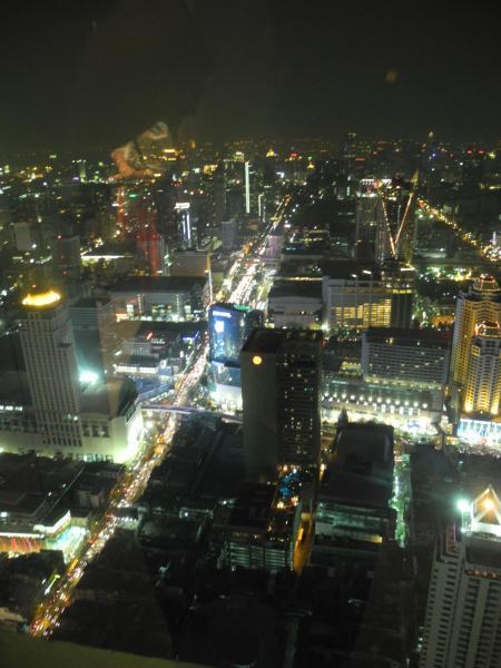 Вид на Бангкок из Baiyoke Sky