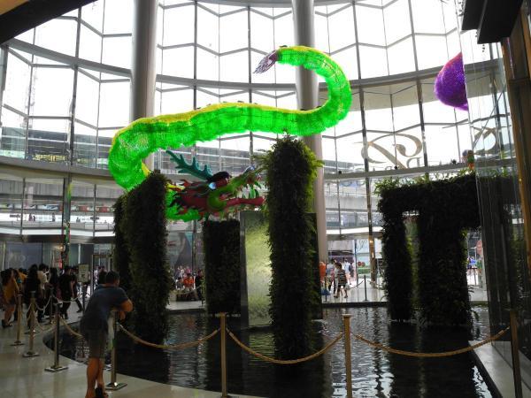 Внутри торгового центра Siam Paragon