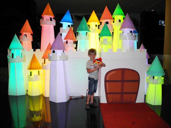 Детский городок-замок